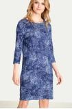 Jednoduché pletené šaty