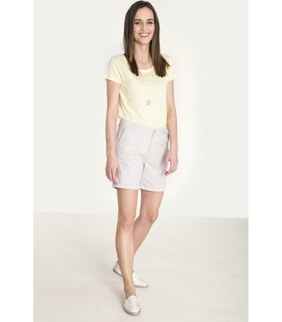 55f477732ee3 Klasické bavlněné šortky - 6425 - Grenpointfashion