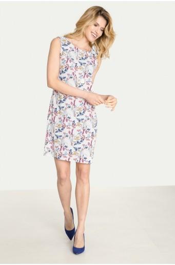 Elegantní šaty s potiskem