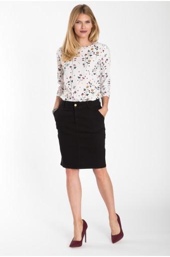 Bavlněná tužková sukně