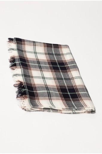 Viskózový kostkovaný šátek
