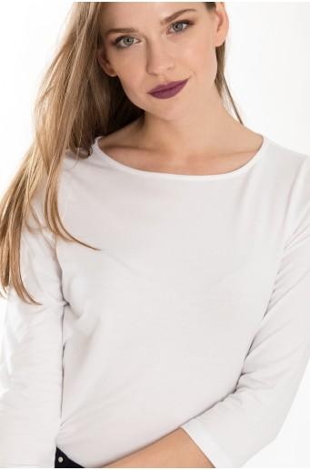 Bílý bavlněný top