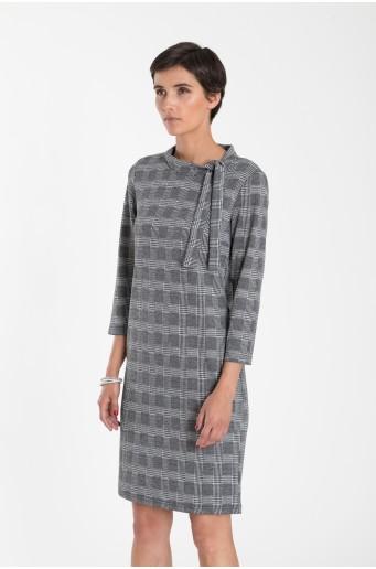Priliehavé pletené šaty
