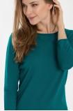 Klasický tyrkysový svetřík