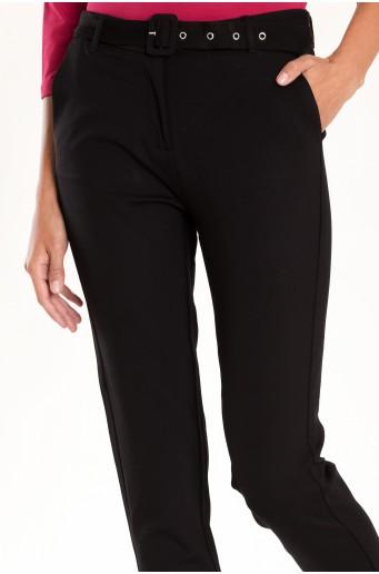 Elegantné nohavice s opaskom