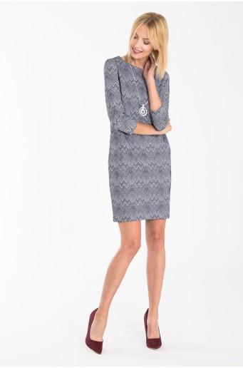 Volné úpletové šaty