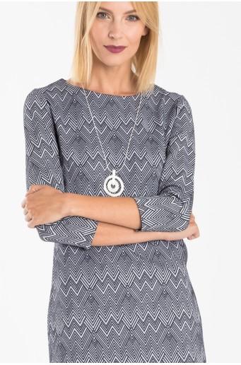 Voľné pletené šaty