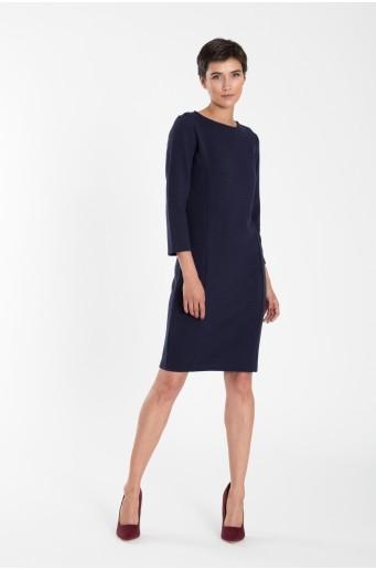Šaty z úpletu