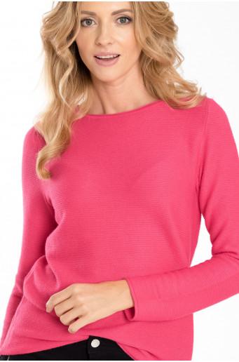 Klasický růžový svetr