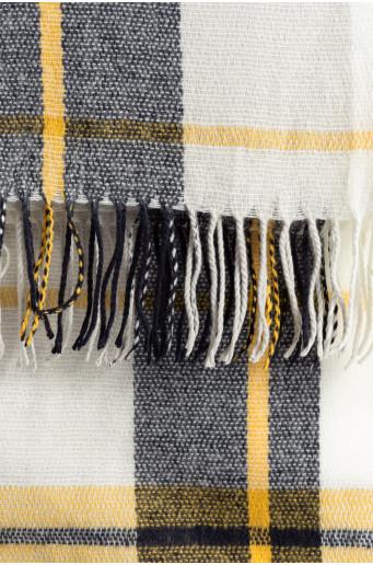 Kostkovaná šála