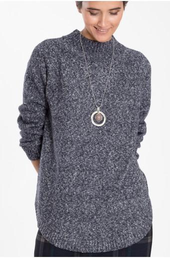 Teplý svetr se stojáčkem