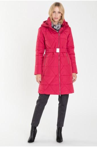 Prošívaný slušivý kabát