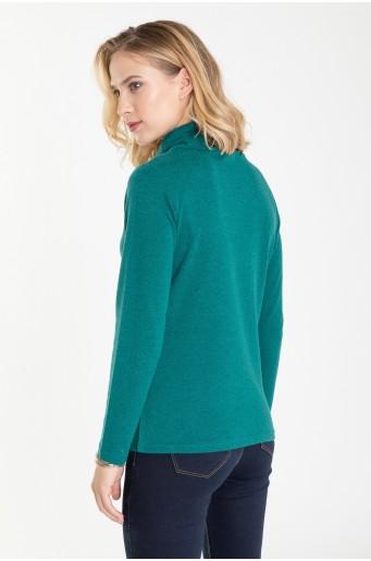 Měkký rolákový svetr