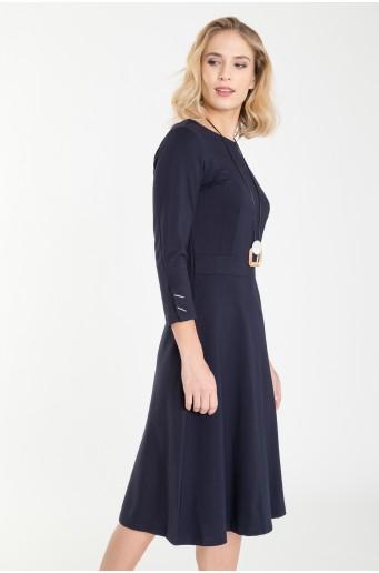Rozšířené šaty z úpletu