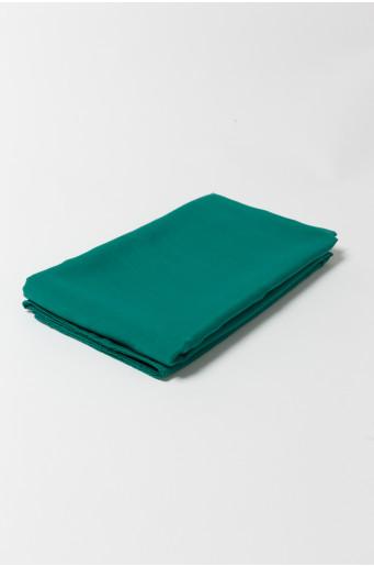 Elegantný tmavozelený šál