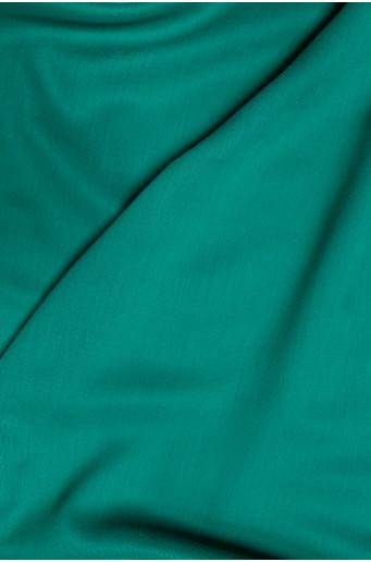 Dark green elegant scarf