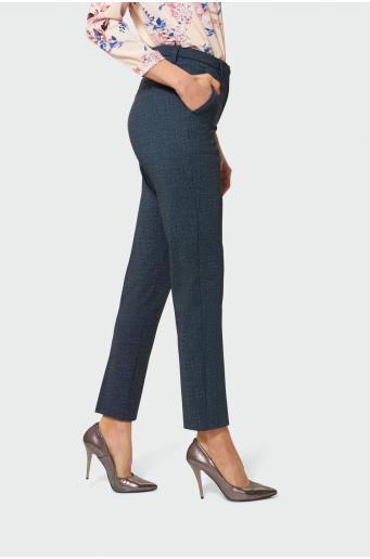 Klasické šedé kalhoty