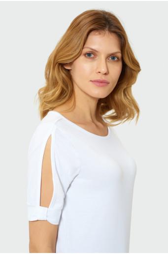 Klasický biely top