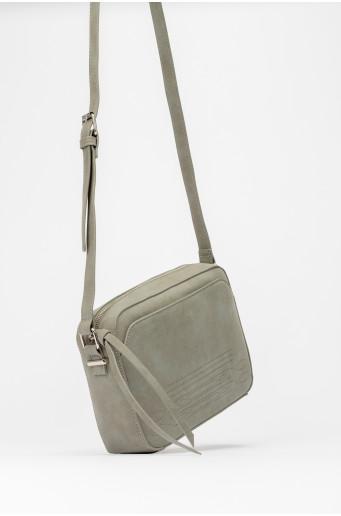 Small gray handbag