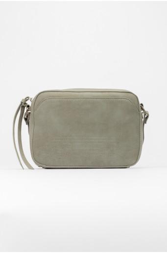 Malá šedá kabelka
