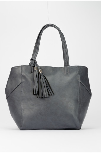 Tmavomodrá taška - shopper