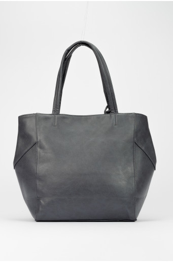 Tmavě modrá shopper kabelka