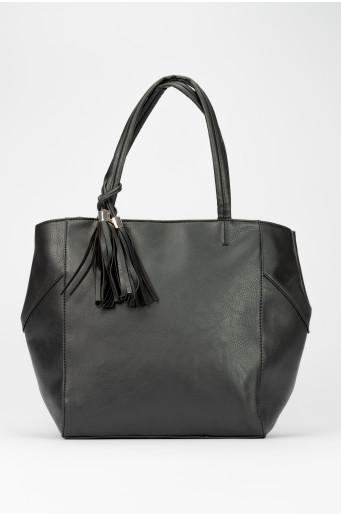 Černá shopper kabelka