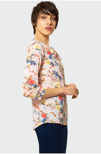 Elegant floral blouse