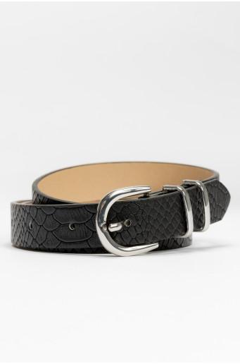 Pásek - hadí kůže