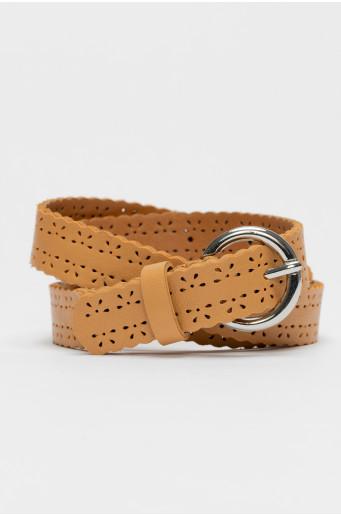 Openwork belt