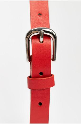 Basic skinny belt