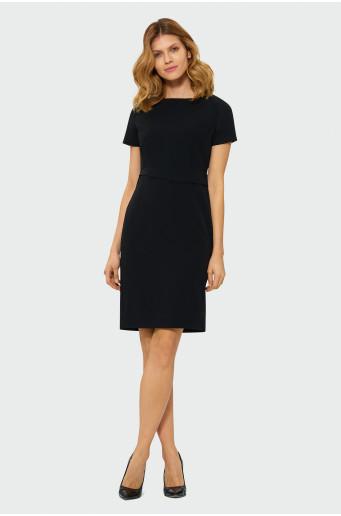 Elegantné čierne šaty