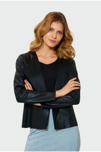 Classic short blazer jacket