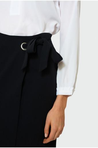 Elegant wrap skirt