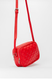Small red handbag