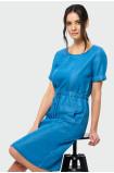 Šaty v barvě denimu