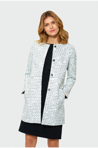 Klasický francouzský kabát