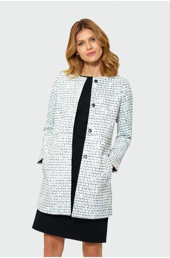 Klasický francúzsky kabát