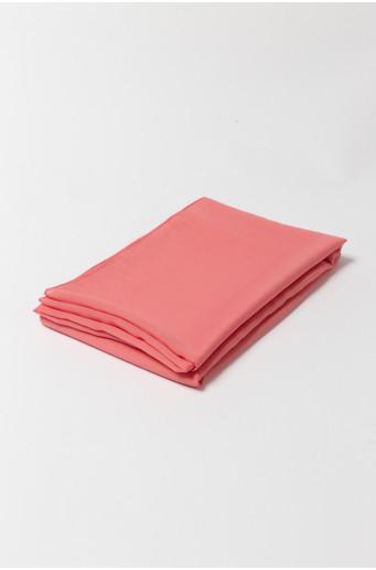 Pink elegant scarf