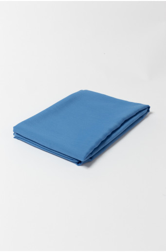 Light blue elegant scarf