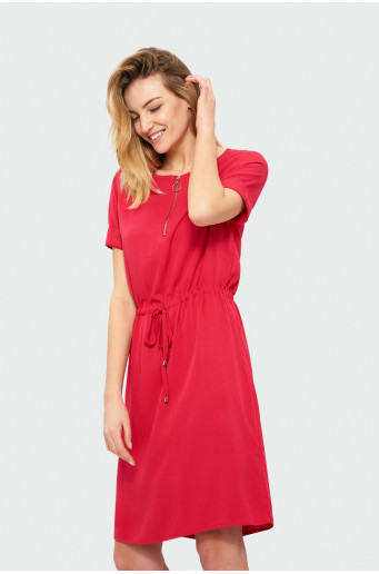 Classic short sleeve dress