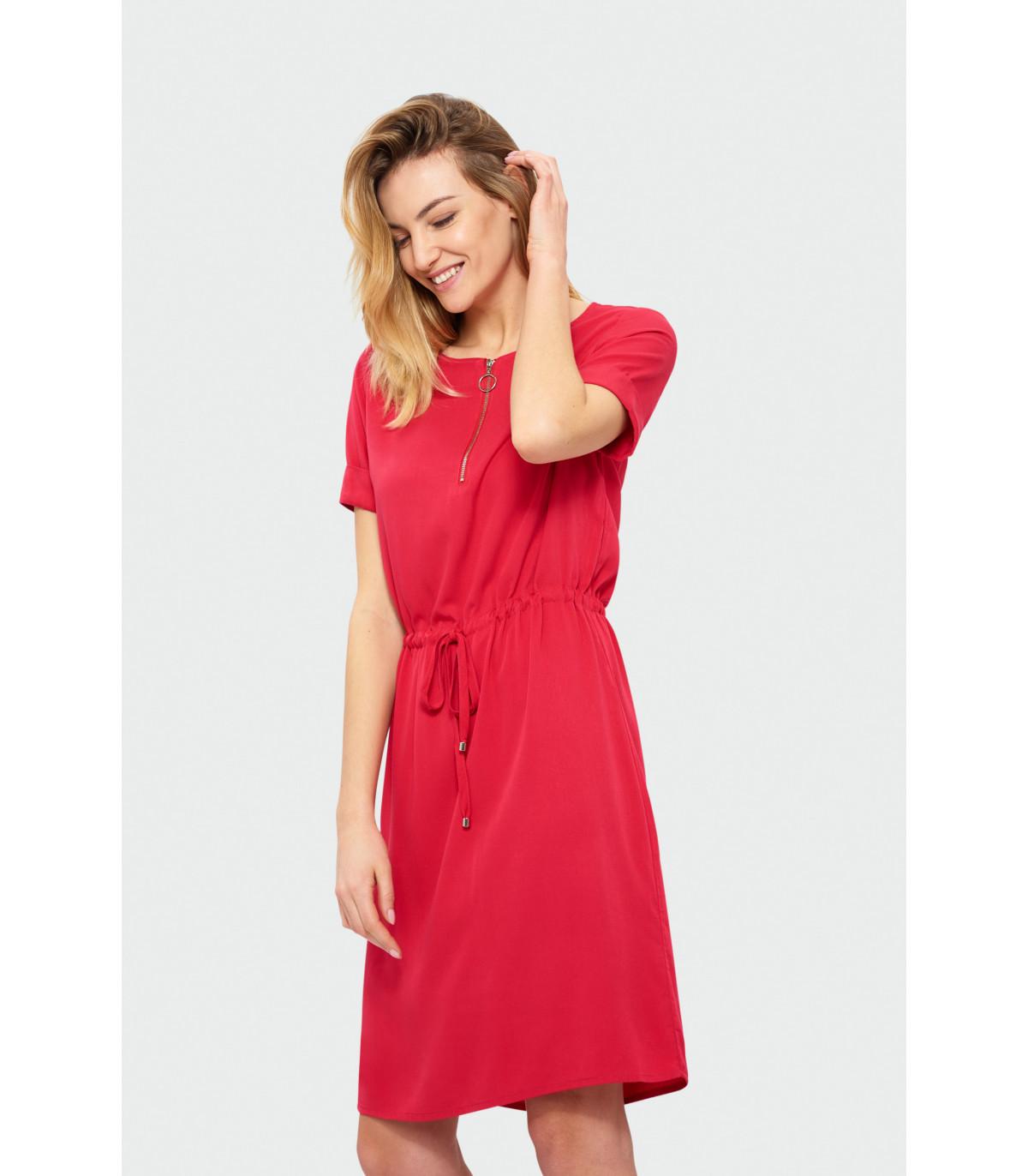 78a12fd9245b Klasické šaty s krátkym rukávom
