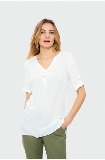 Klasická biela košeľa
