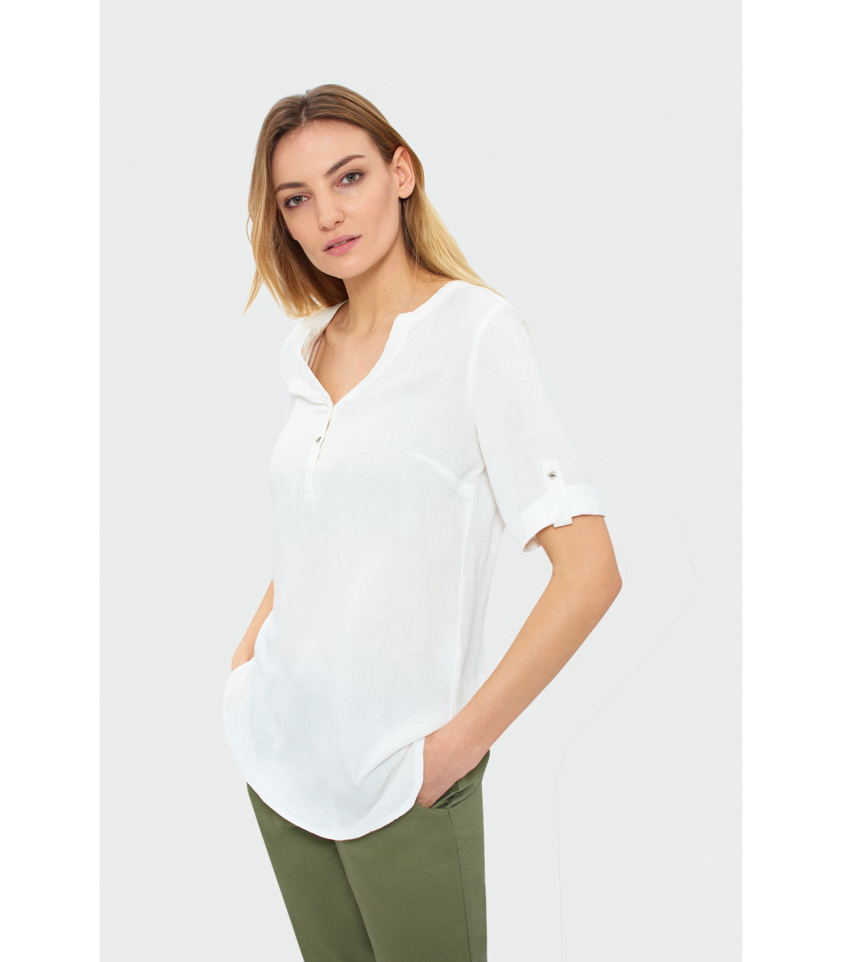 fbed82db47 Klasická biela košeľa