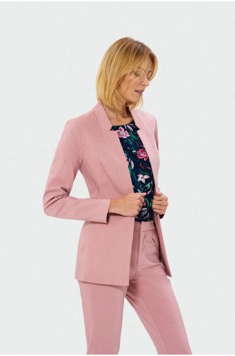 Longer blazer jacket