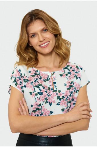 Classic floral blouse