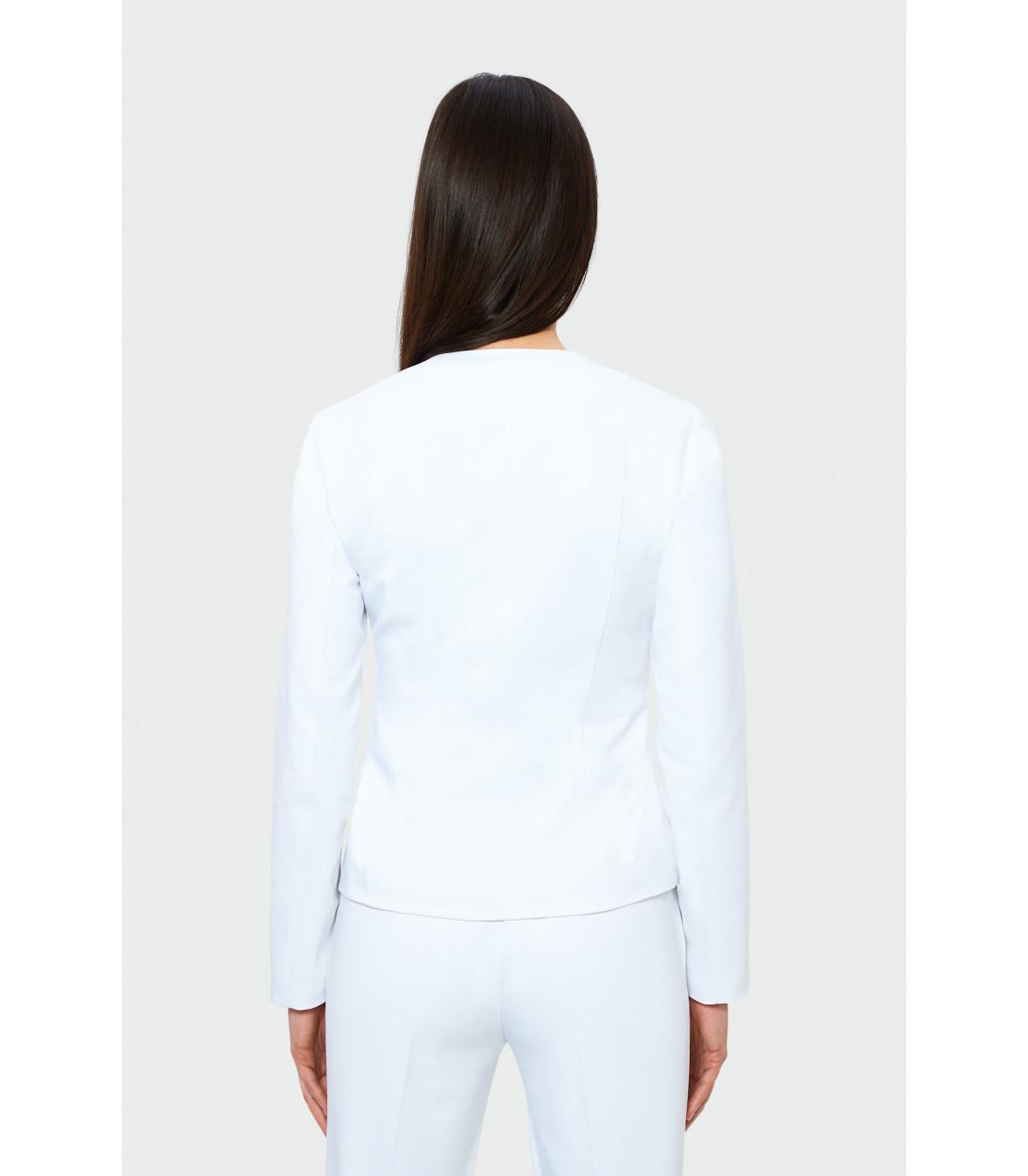 48b91ced0151 Elegantné biele nohavice