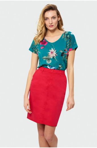 Klasická bavlněná sukně