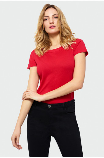 Classic short sleeve top