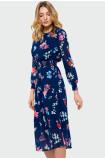 Lehké květinové šaty